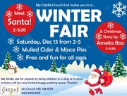 Winter Fair - Free & Fun For All Ages