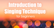 """""""Relax and Sing"""" Intro to Singing Technique for adult beginners (scaredy cats welcome!) 6 week course"""