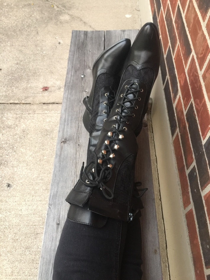 Boots Before Corset
