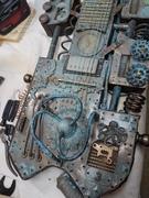 Steampunk lap steel