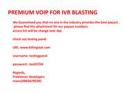 premium voip
