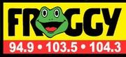 Kellie Lynne LIve In Studio on Froggy Radio!!