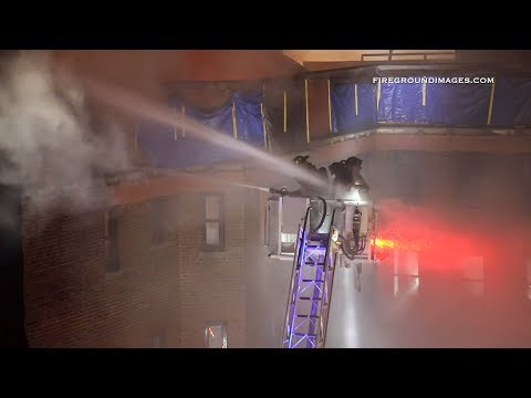 Firefighters Struck by Master Stream While Operating from the Bucket (Yonkers, NY) 3/12/19