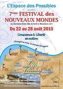 7ème Festival des Nouveaux Mondes