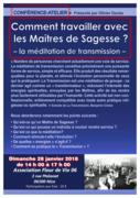 La méditation de transmission