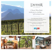 Free Wine Tasting & Networking session at l'Avenir Wine Estate