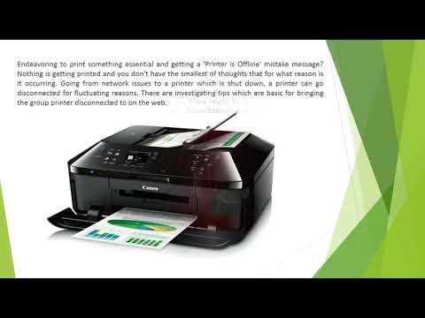 Canon printer offline Customer Support number