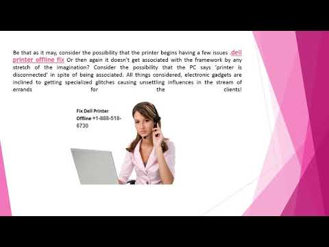 Fix Dell Printer offline Problem Call toll free number +1-888-518-6730