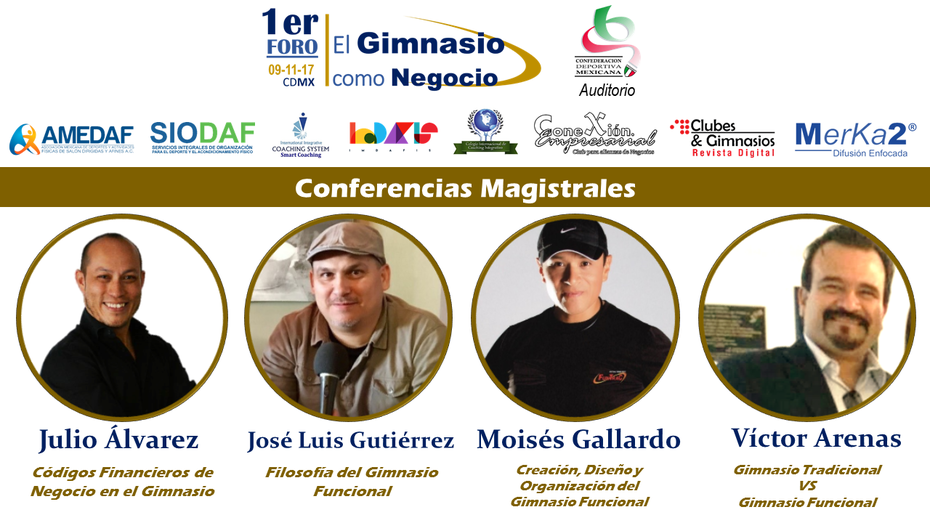conferencias foro gym