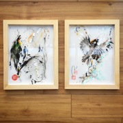 Touchable Chinese painting