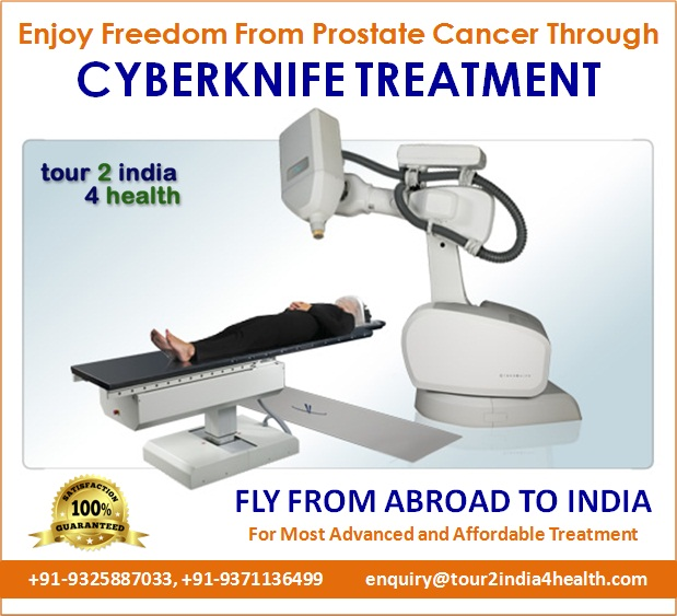 Enjoy Freedom From Prostate Cancer Through Cyberknife Treatment