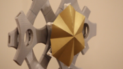 Responsive Origami | reTessellate | Programable Tessellation Units
