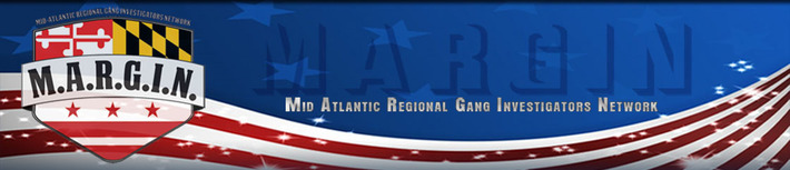 MARGIN - Mid Atlantic Regional Gang Investigators Network Logo