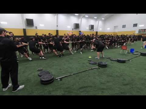 JHS Football Off-season Training 2019