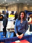 Heidi Marie Gennaro works as interviewer at NY Xpo for Business!