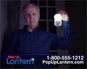 Pop-up Lantern TV Comml