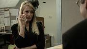 Lin Hultgren as manipulative widow Abigail Reece in Sunny Side Up