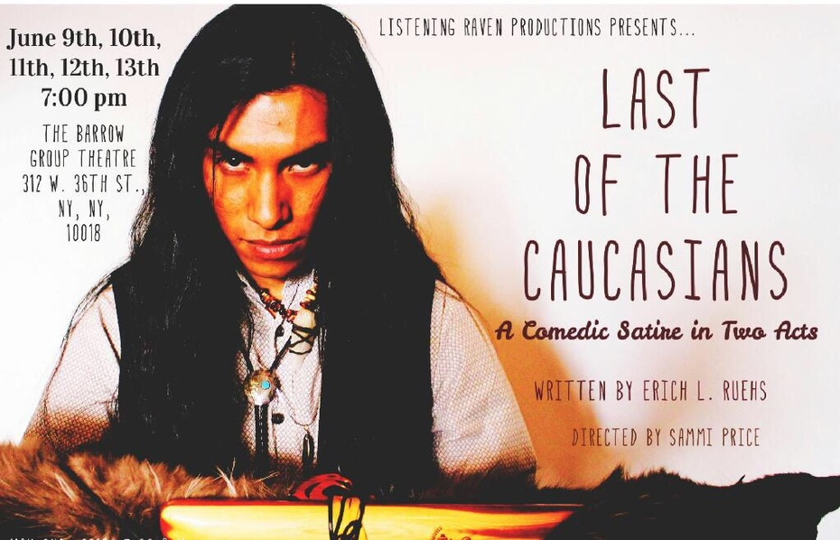 Last of the Caucasians. Sparrowhawk poster.