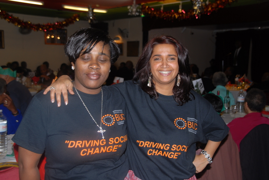 Naomi Leo (Mgr & Bereavement Counsellor) and Paulette West MBE, Chair for the Counselling Committee @ the ACLC