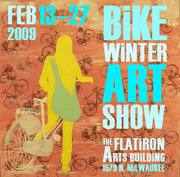 Bike Winter Art Show 2009