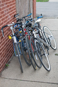 We didn't have bike parking, so we made it