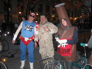 Me, Duff Man & Duff Beer 1
