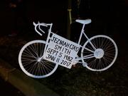 Jezniah Smith Ghost Bike Installation 1-23-17