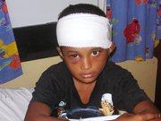 Eliot in Labasa Hospital