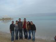 Dead Sea in winter