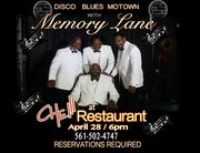 "Memory Lane Performs at Che"" Restaurant"