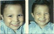 yo a los 3 años