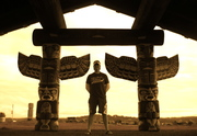 I love Totem Art - this is in Campbell River BC