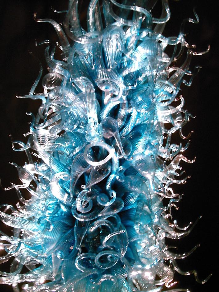 . . . when glass looks fuzzy