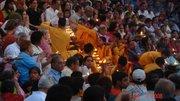preparation of evening pooja in Rishikesh