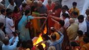 Gurus doing pooja