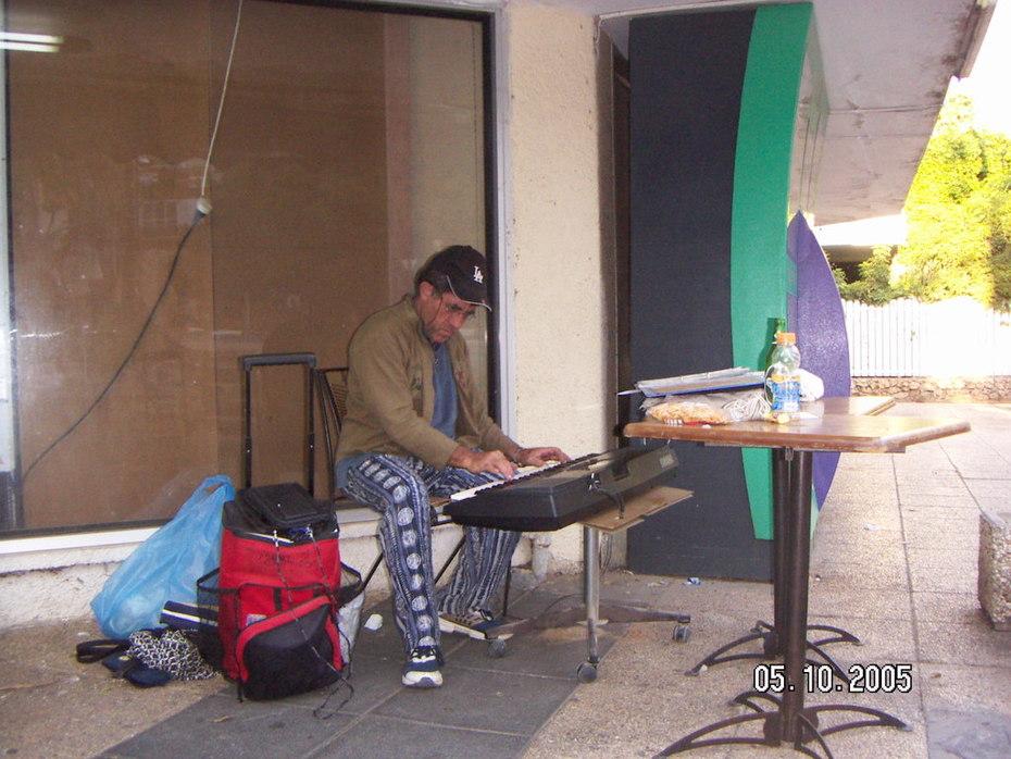 Composing in Kfar Sava (2)