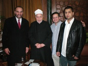 Mustapha Sheriff-ImanTantanoui-Emmanuel and Abderahim-Cairo