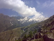 way to rohtang..