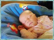 Alexis Sleeping At Grandma's !