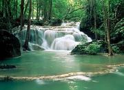 gelijkmatige waterval