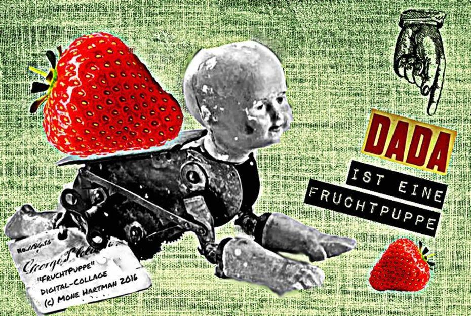 Fruchtpuppe / fruity doll
