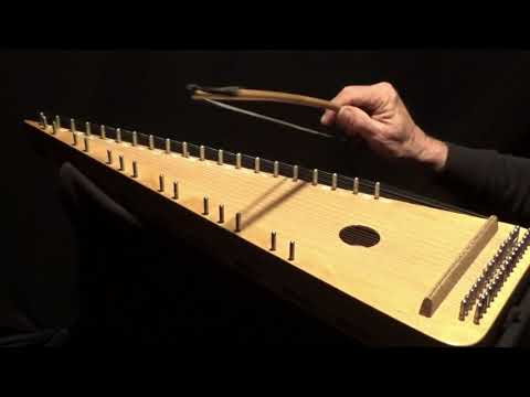 """""""BONNIE SWEET ROBIN"""" on Bowed Psaltery"""