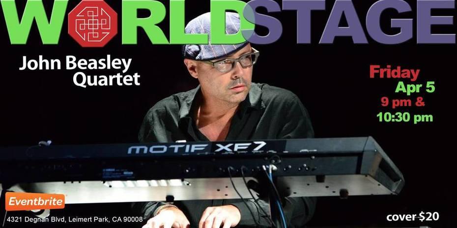 "JOHN BEASLEY Quartet ""Jazz Appreciation Month - Kick-Off Weekend - TGIF"""