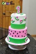 lwatermelon cake
