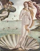 The Birth of Venus (detail) - Botticelli