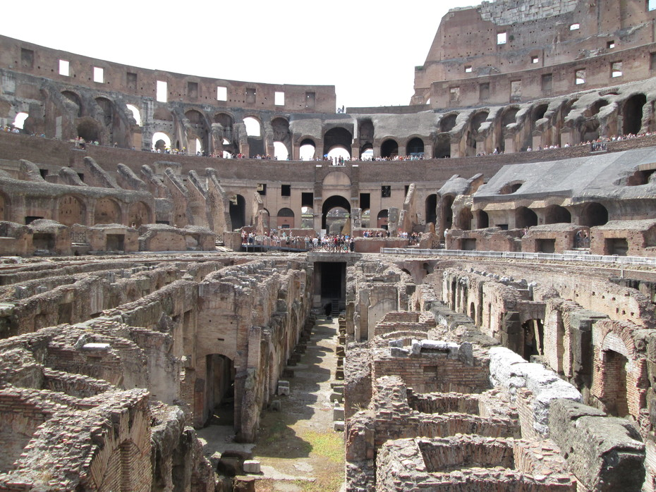 Colosseum - view from arena floor