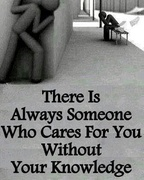 There is always someone . . .