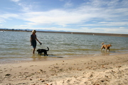 colorado beach with beloveds
