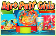 The Afro Puff Girls - Party Theme