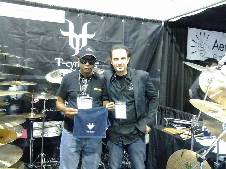 icepack and burak of tcymbals, icepack's cymbal endorsement